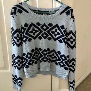 Blue sweater